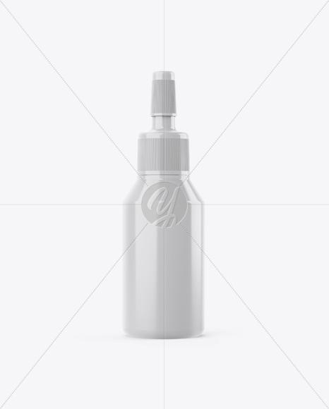 Glossy Ampule Bottle Mockup