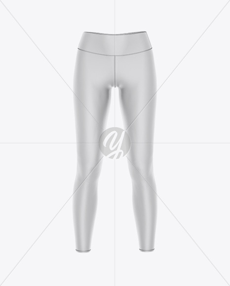 Women's Leggings Mockup - Front View
