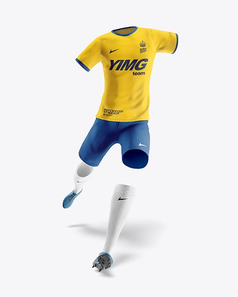 Men's Full Soccer Team Kit Mockup
