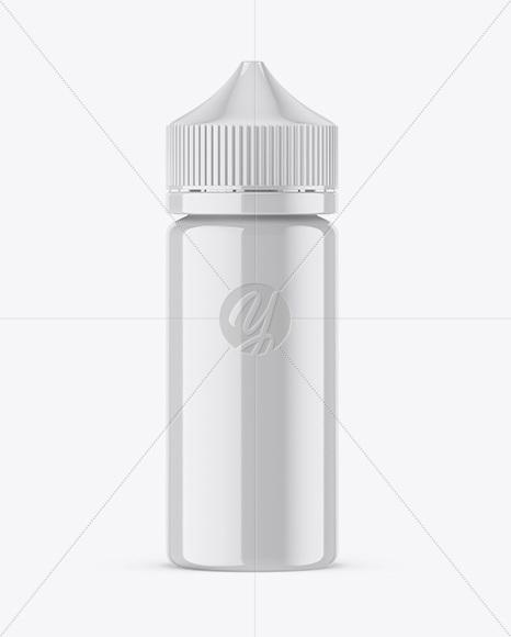 100ml Glossy Dropper Bottle Mockup