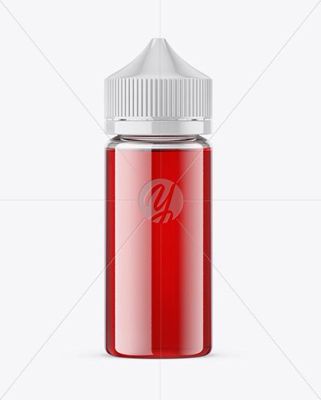 Download 100ml Glass Bottle Mockup PSD - Free PSD Mockup Templates