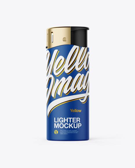 Matte Lighter Mockup