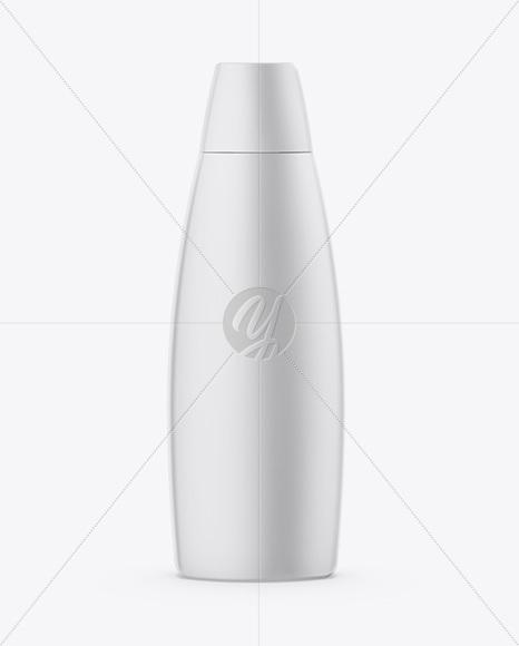 Cosmetic Matte Bottle Mockup