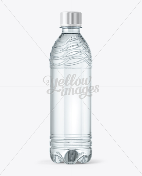 PET Water Bottle Mockup