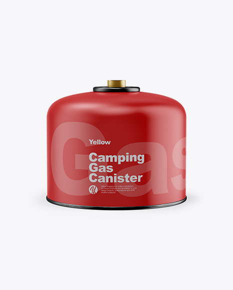 Matte Camping Gas Canister