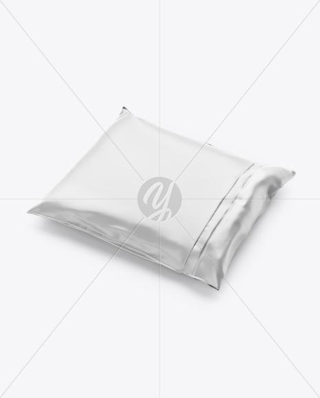 Download Matte Bag With Candies Mockup Half Side High Angle Shot PSD - Free PSD Mockup Templates