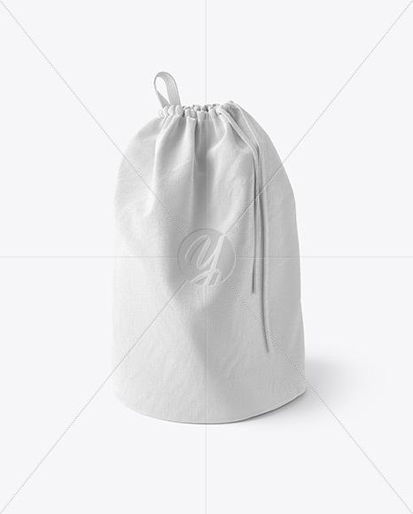 Laundry Bag Mockup