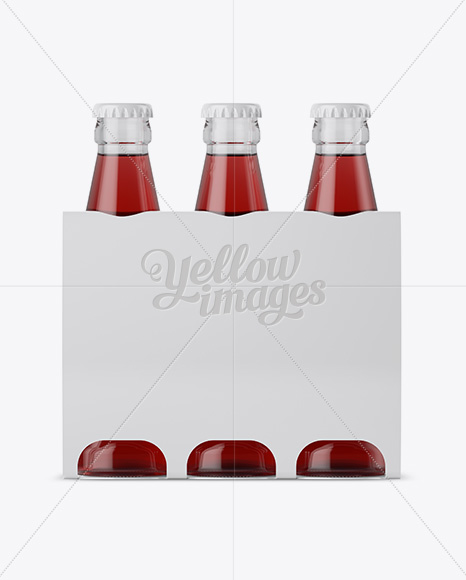 Download Clear Glass Bottle With Red E Liquid Mockup PSD - Free PSD Mockup Templates