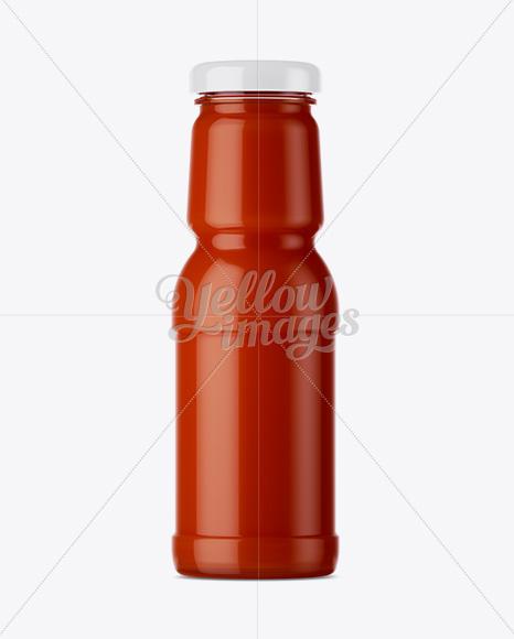 Download Tomato Juice Bottle Mockup Free Mockups