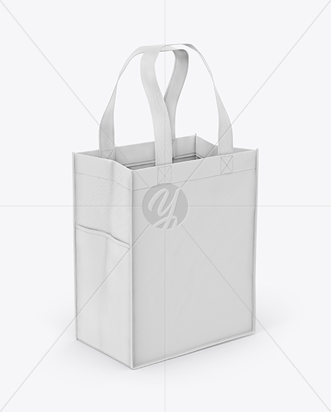 Canvas Bag w/ Pocket Mockup