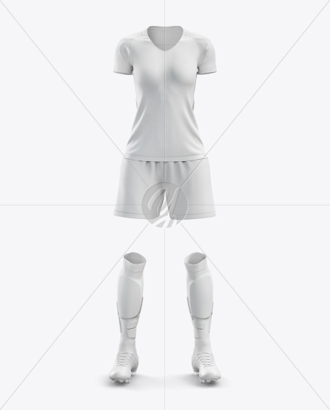 Download Mens Full Soccer Goalkeeper Kit Mockup Front View Yellowimages
