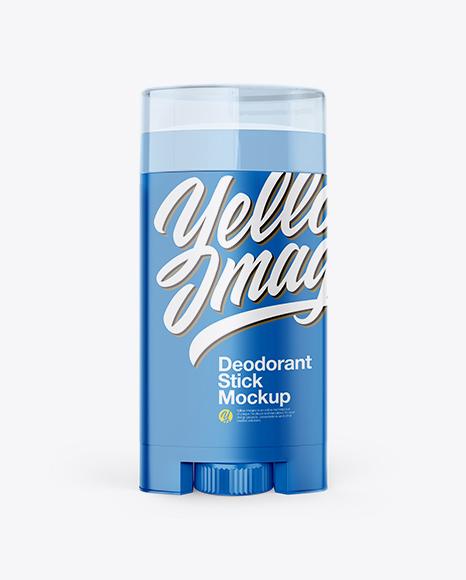 Plastic Deodorant Stick Mockup