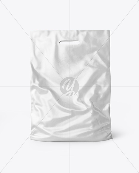 Plastic Carrier Bag Mockup