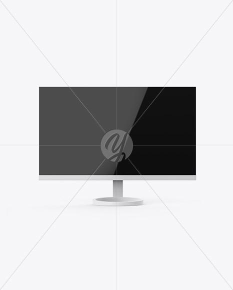 Glossy Monitor Mockup