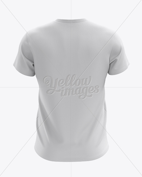 T Shirt Mockup Back