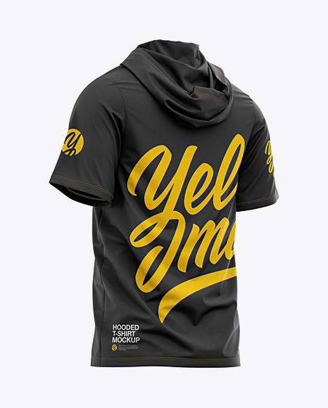 Download Plain Black Hoodie Mockup Yellow Images