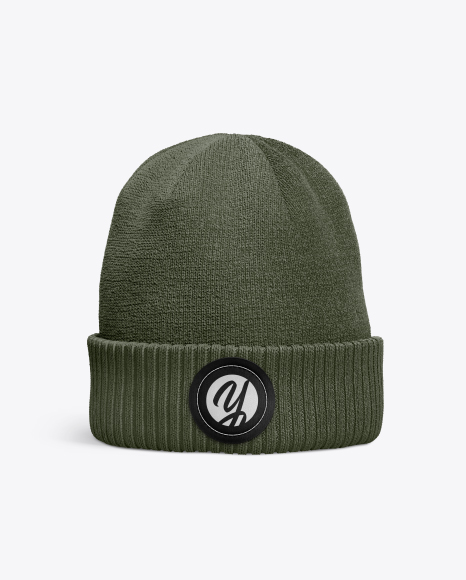 Download Beanie Hat Mockup Yellow Images