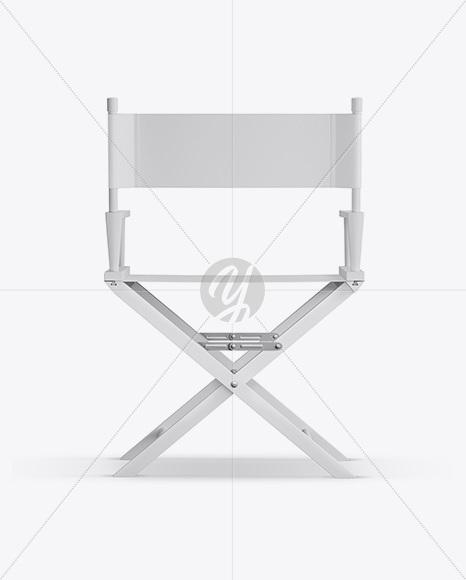 Matte Director's Chair Mockup