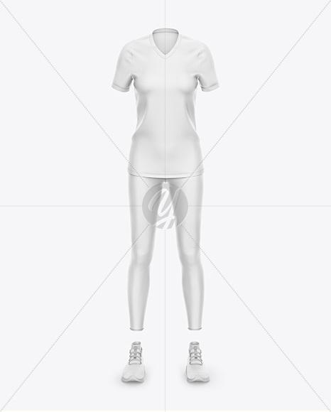 Women`s Sport Kit - Front View