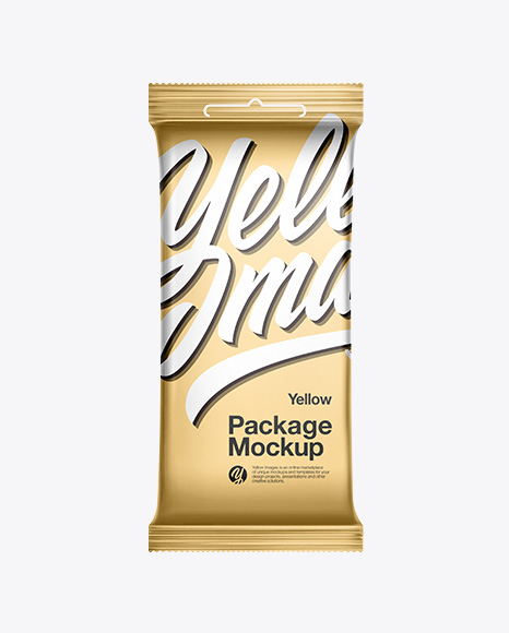 Metallic Package Mockup