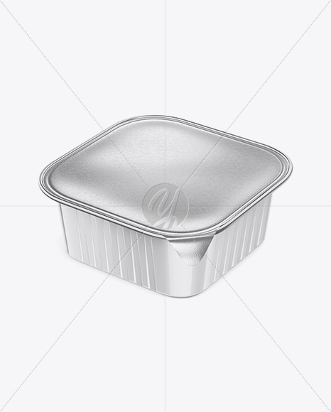 Download Plastic Container Mockup Half Side View High Angle Shot PSD - Free PSD Mockup Templates