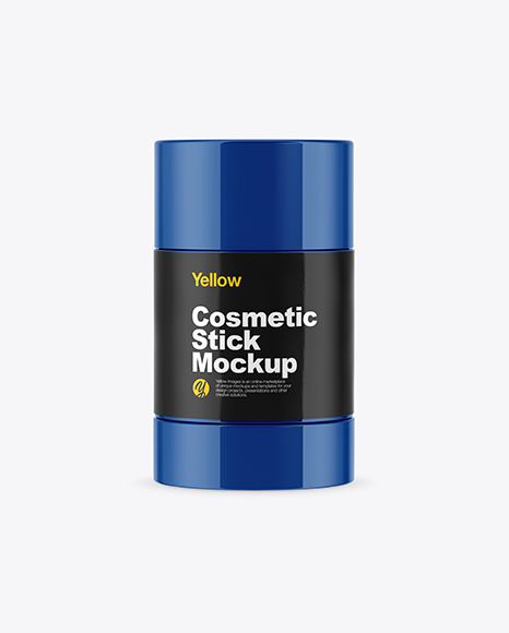 Download Glossy Cosmetic Tube With Kraft Box Mockup PSD - Free PSD Mockup Templates