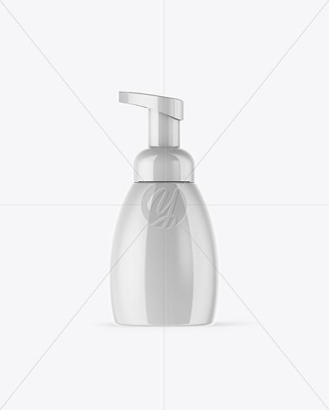 Glossy Soap Bottle Mockup