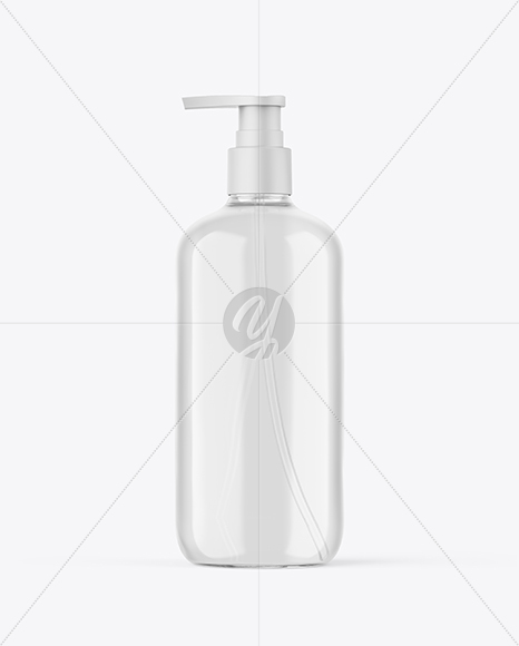 Download Clear Airless Pump Bottle Mockup In Bottle Mockups On Yellow Images Object Mockups PSD Mockup Templates