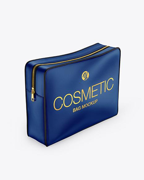 Matte Cosmetic Bag Mockup