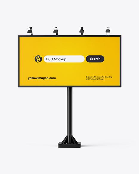 6x3 Billboard Mockup