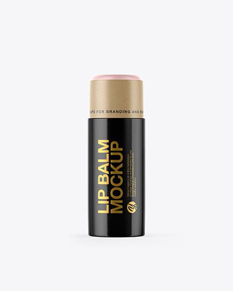 Glossy Lip Balm Packaging Mockups - Free Tshirt PSD Mockups Template