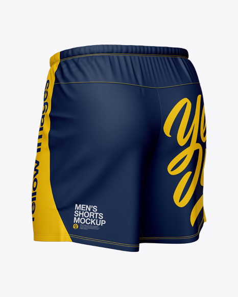 Men's Running Shorts HQ Mockup