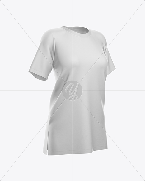 Download Women S Baggy T Shirt Mockup In Free Mockups On Yellow Images Object Mockups PSD Mockup Templates
