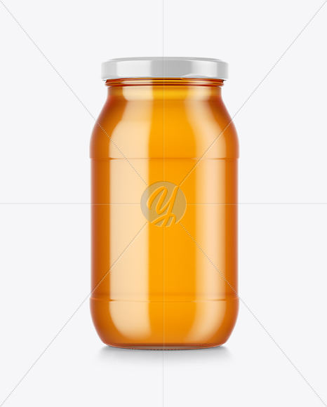 Download Pure Honey Jar Mockup In Jar Mockups On Yellow Images Object Mockups PSD Mockup Templates
