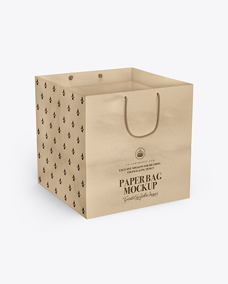Download Paper Bag Mockup Psd Yellowimages