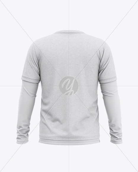 Download Mens Hooded T Shirt Mockup Back View Yellow Images