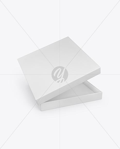 Textured Paper Box Mockup