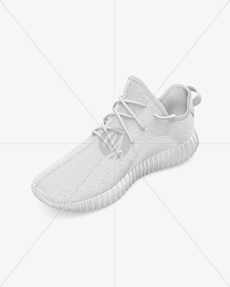 Download Leather Sneaker Mockup Left Half Side View Yellowimages