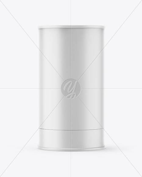 Matte Paper Tube Mockup
