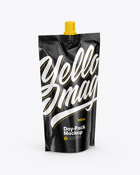 Glossy Doy Pack Mockup