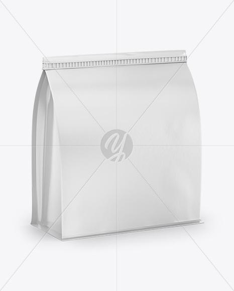 Food Bag Mockup- Half Side View
