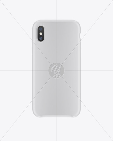 Download Iphone X Matte Case Mockup In Device Mockups On Yellow Images Object Mockups PSD Mockup Templates