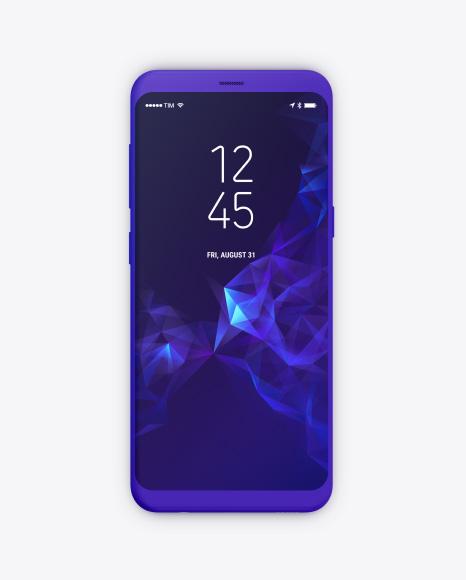 Clay Samsung Galaxy S8 Mockups