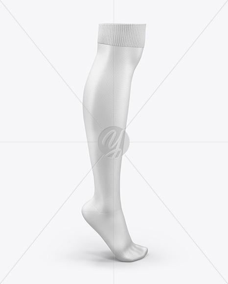 Long Sock Mockup