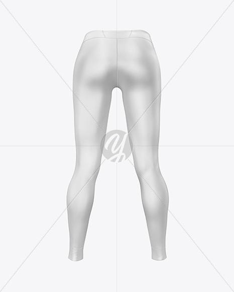 Download Leggings Mockup Back View Yellowimages
