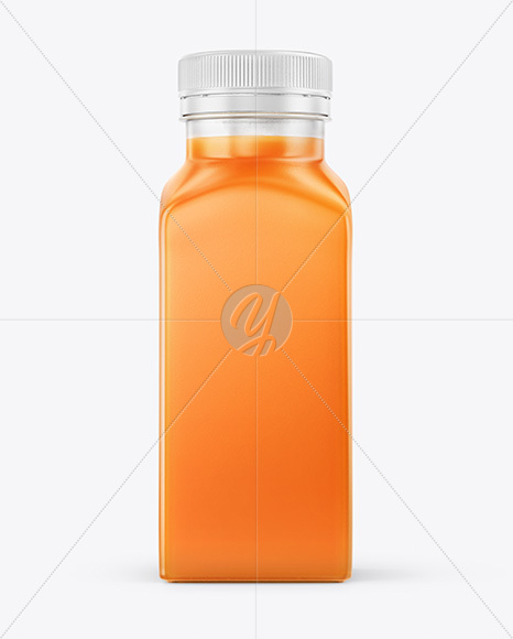 Download Square Carrot Juice Bottle Mockup In Bottle Mockups On Yellow Images Object Mockups Yellowimages Mockups