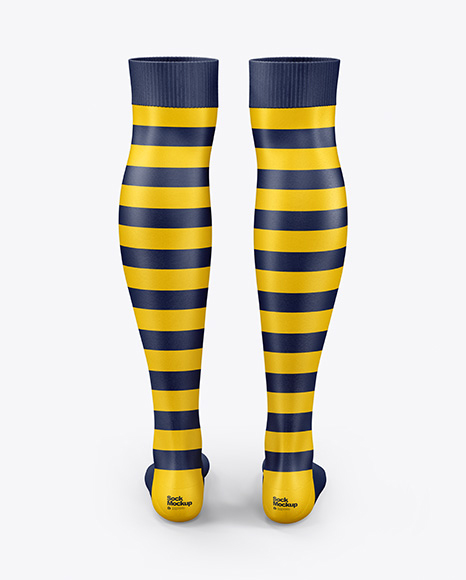 Two Long Socks Mockup