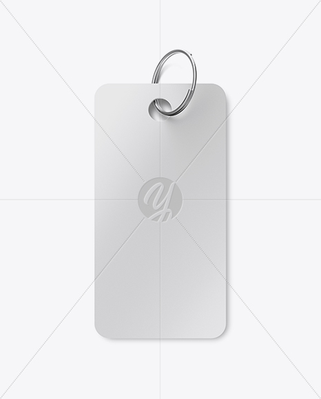 Download Key Tag Mockup In Object Mockups On Yellow Images Object Mockups PSD Mockup Templates
