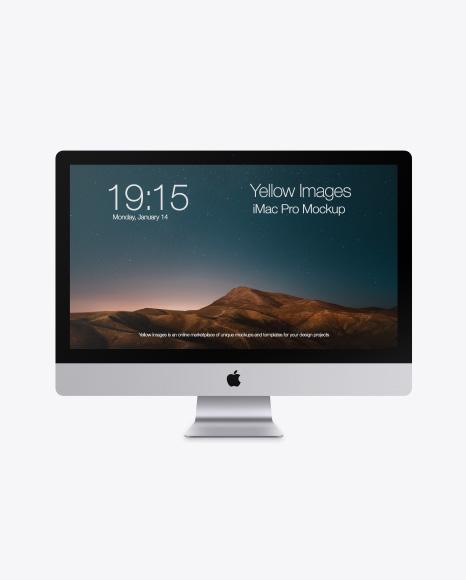 iMac Pro Mockups