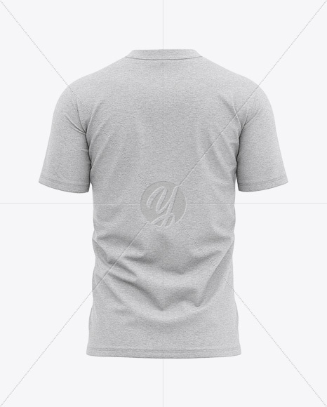 Download Folded Melange T Shirt Mockup Yellowimages